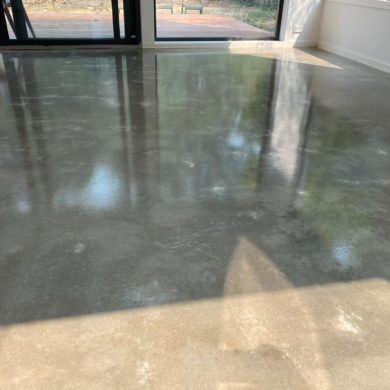 Photo of Burnished Polished Concrete Floor Effect in Canberra